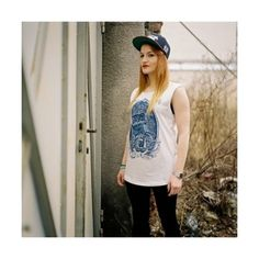 THE HIVE CLOTHING - Bluzka GHOST SHIP TANK TEE