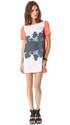 findersKEEPERS You Sent Me Tee Dress $124