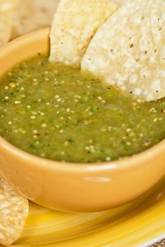 Homemade Tomatillo Salsa Verde Recipe