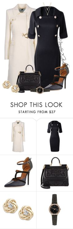 """""""Time to Minister"""" by momfor2girls on Polyvore featuring Blumarine, Malone Souliers, Dolce&Gabbana, Wrapped In Love, GUESS and LOFT"""
