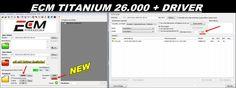 Diese neue Version ECM Titanium 1.61 mit 26000+ Treiber hinzugefügt neuen Treiber als ECM 1.61 mit 26000 Fahrer. Mit dieser Software können Sie Ihr Auto Computer Einspritzung (ECU) für mehr Leistung Motor neu zuordnen Kein USB Need Dongle, Keine Notwendigkeit, Lizenz, können Sie es direkt mit V2.13 KESS V2 / KTAG verwenden.  Installation Video:  www.dailymotion.com/embed/video/x38x3mb  item number:SS77-C  Check more details on www.autoobd2.de