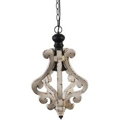 Perfectly distressed! A farmhouse favorite, this pendant can go just about anywhere. It takes a...