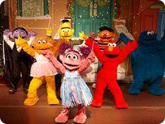 A Sesame Street Christmas Show at Sesame Place!