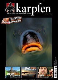 Fischgesicht ;) Gefunden in: karpfen Nr. 4/2014