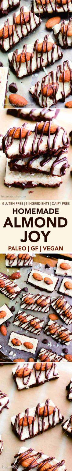 Paleo Almond Joy - almond, cake, chip, chocolate, coconut, cookie, dessert, gluten free, recipes