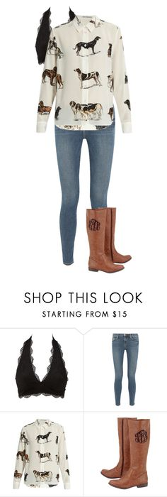 """""""Untitled #505"""" by dauntless-darling on Polyvore featuring Charlotte Russe, Frame and STELLA McCARTNEY"""