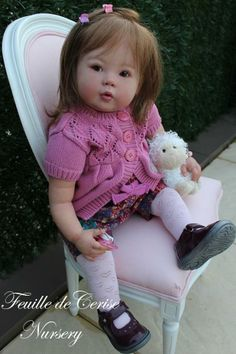 Sweet doll, reminds me of Isabella, my youngest Children's Church munchkin :)