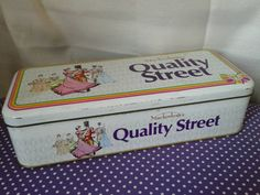 Mackintosh's Quality Street Tin. 1989. by KirstysCollectables