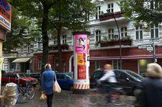 - Litfaßsäulenwerbung, Allgemeinstelle, Berlin