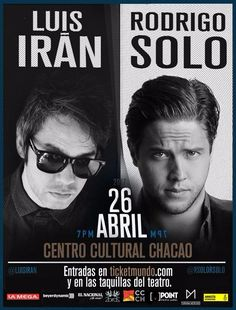 Rodrigo Gonsalves y Luis Irán reagendan concierto previsto para el miércoles 26 de abril http://crestametalica.com/rodrigo-gonsalves-y-luis-iran-reagendan-concierto-previsto-para-el-miercoles-26-de-abril/ vía @crestametalica