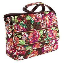 0a3be3b083  NEW  VERA BRADLEY MESSENGER Crossbody bag in English Rose ~ Love it Vera  Bradley