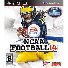 NCAA Football 14 (Sony PlayStation 3, 2013) ----- Price: USD 19.99 | United States