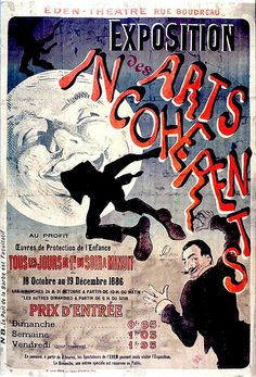 Exposition Des Arts Incohérents poster