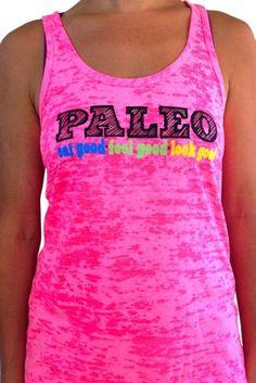 SoRock Women's Paleo Eat Good, Look Good, Feel Good Tank Top Small Pink SoRock http://www.amazon.com/dp/B00FRLZZK2/ref=cm_sw_r_pi_dp_ESmlub15QQMCG