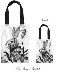 MidoriX - Tote Bag - Rabbit トートバッグ「兎」