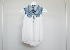 denim and voile