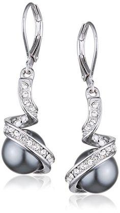 1 ct Noir Aaa Round Diamond Drop Dangle Femmes Leverback Boucles d/'oreille 14K or Blanc