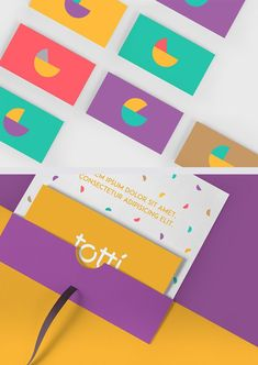 Corporate identity for Totti brand The post Corporate identity for Totti brand appeared first on Design. Corporate Design, Corporate Stationary, Stationary Design, Brand Identity Design, Corporate Branding, Charity Branding, Kids Branding, Logo Branding, Logo Infantil