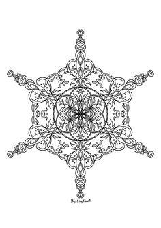 Mandala #mandala #arttherapie #coloriageadulte #coloriagezen #coloriage Mandala, Creations, Art Therapy, Drawing Drawing, Mandalas