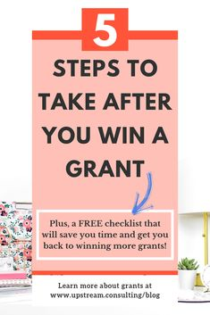 What you do after you win a grant is critical to helping you keep your funding. Click through to read about the 5 steps you should take after you win a grant. Grant Proposal Writing, Grant Writing, Writing Tips, Nonprofit Fundraising, Fundraising Ideas, Fundraising Events, Agriculture Grants, Grant Application, Firefighter Quotes