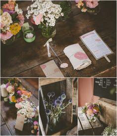 Un mariage guinguette géométrique en Normandie – A+H