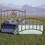 Tisdale Bed by Frontier Ironworks