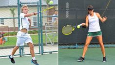 Julin and Bukajeva Earn Player of the Week Honors