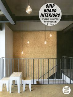 OSB OMG! Chipboard Interiors