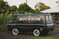 Bourbon Van Branding