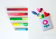 DIY crayons: Good tips on how to