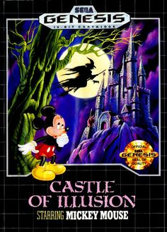 Sega Genesis - Castle of Illusion Starring Mickey Mouse