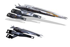 Normandy from the Mass Effect video game series.... I blame Lindi for this...
