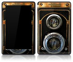 Amazon Kindle Fire Skin Cover - Zeiss Ikoflex Vintage Camera