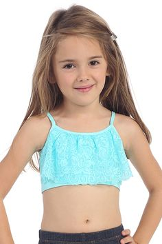 So cute for Dance or First Training Bra / Camisole for Girls ...