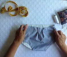tutorial con video, patrón e indicaciones para hacer braguita de bebé, buena calidad por sus acabados