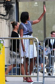 Michelle Obama at the Standard Club in Chicago