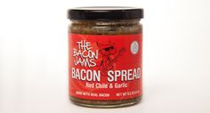 THE BACON JAMS RED CHILE & GARLIC BACON SPREAD VIEW MORE FROM THE BACON JAMS  @UDKitchen http://undiscoveredkitchen.com a digital farmers' market for specialty, small batch food!