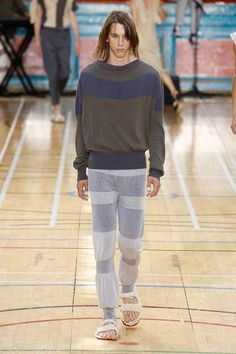 See the complete Vivienne Westwood Spring 2018 Menswear collection.