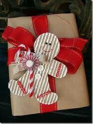 Buenas ideas para empacar un regalos navideños.