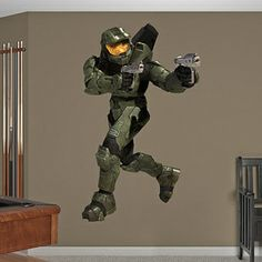 Boys Halo Themed Room