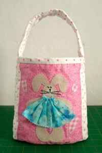 Bunny Bag free tutorial - there is also a version with trousers for the boys