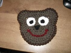 Crocheted Bear Motif Tutorial