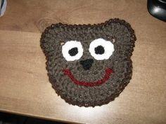 Crocheted Bear Motif Tutorial