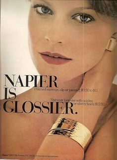 Napier Jewellery Advertisement 1973 | eBay