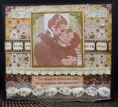Scraps From A Broad: Gone With The Wind... with Love & Lace!