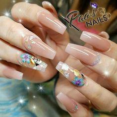 Fabulous Nails, Gorgeous Nails, Pretty Nails, Pretty Nail Designs, Nail Art Designs, Hot Nails, Hair And Nails, Sassy Nails, Luxury Nails