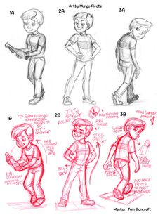 Assignment 1 Mentor Notes by *tombancroft on deviantART