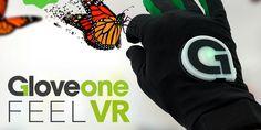 Gloveone, el guante que permite tocar la realidad virtual http://j.mp/1gw5Wx5    #Gadgets, #Gloveone, #Guante, #Kickstarter, #RealidadVirtual