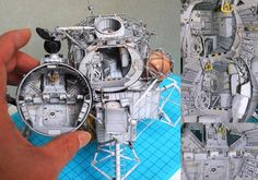Wondrously Detailed Sci-Fi Ships In Papercraft