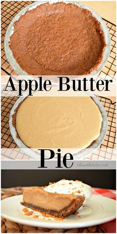 Apple Butter Pie Recipe..easy to make and the perfect fall dessert! #WayfairPieBakeOff